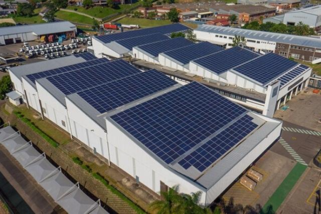 Hệ thống điện mặt trời hiện đại