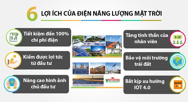 Lợi ích của lắp đặt điện năng lượng mặt trời