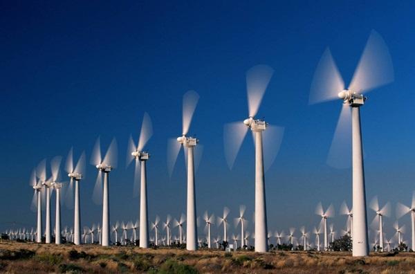 """""""Trang trại"""" năng lượng gió"""