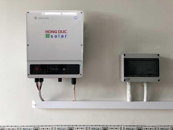 Inverter hòa lưới 8 kW